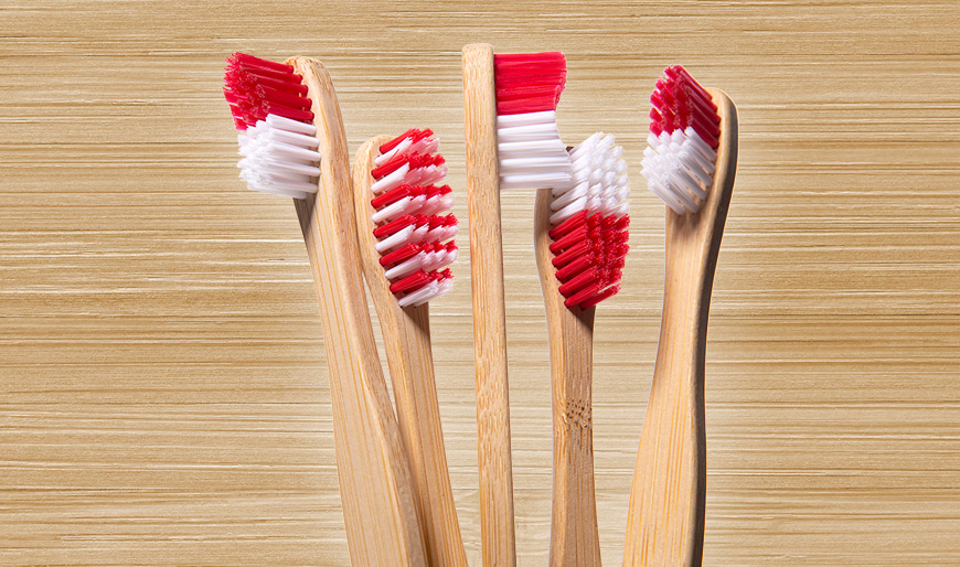 sustainable bamboo toothbrushes