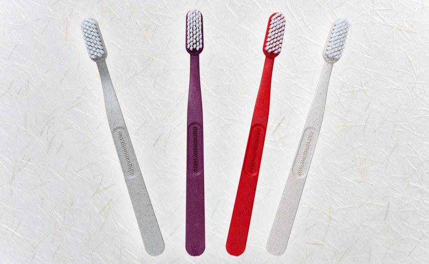 nachhaltige Zahnbürsten Stroh