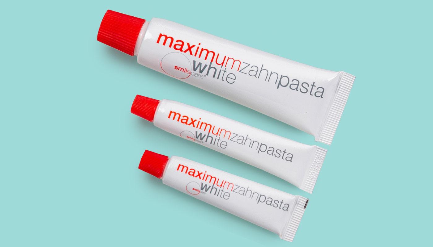 Smilecare Zahnpasta maximumwhite