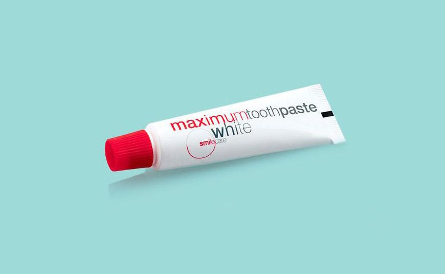 Smilecare maximumwhite Zahnpasta
